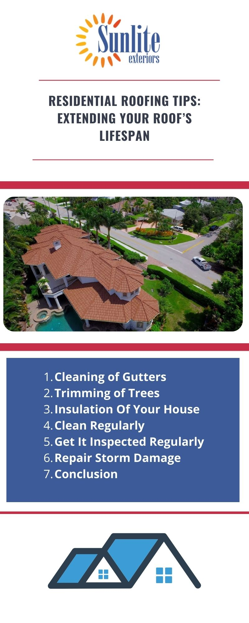 Residential roofing services Houston tx