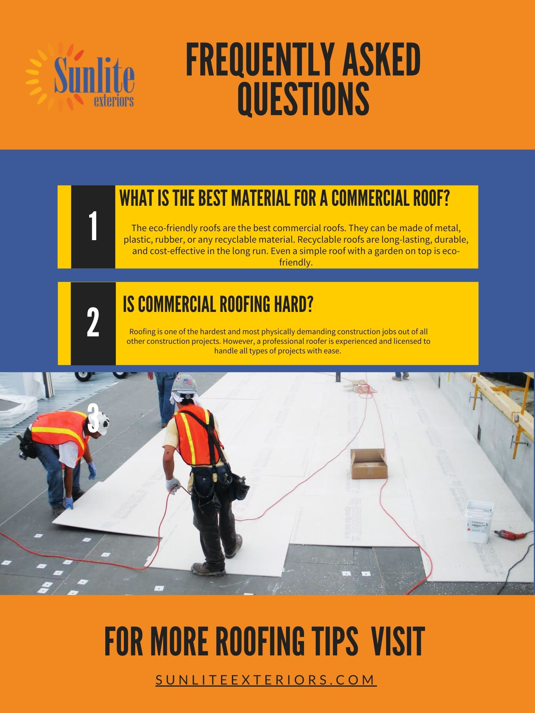 commercial roofing queries